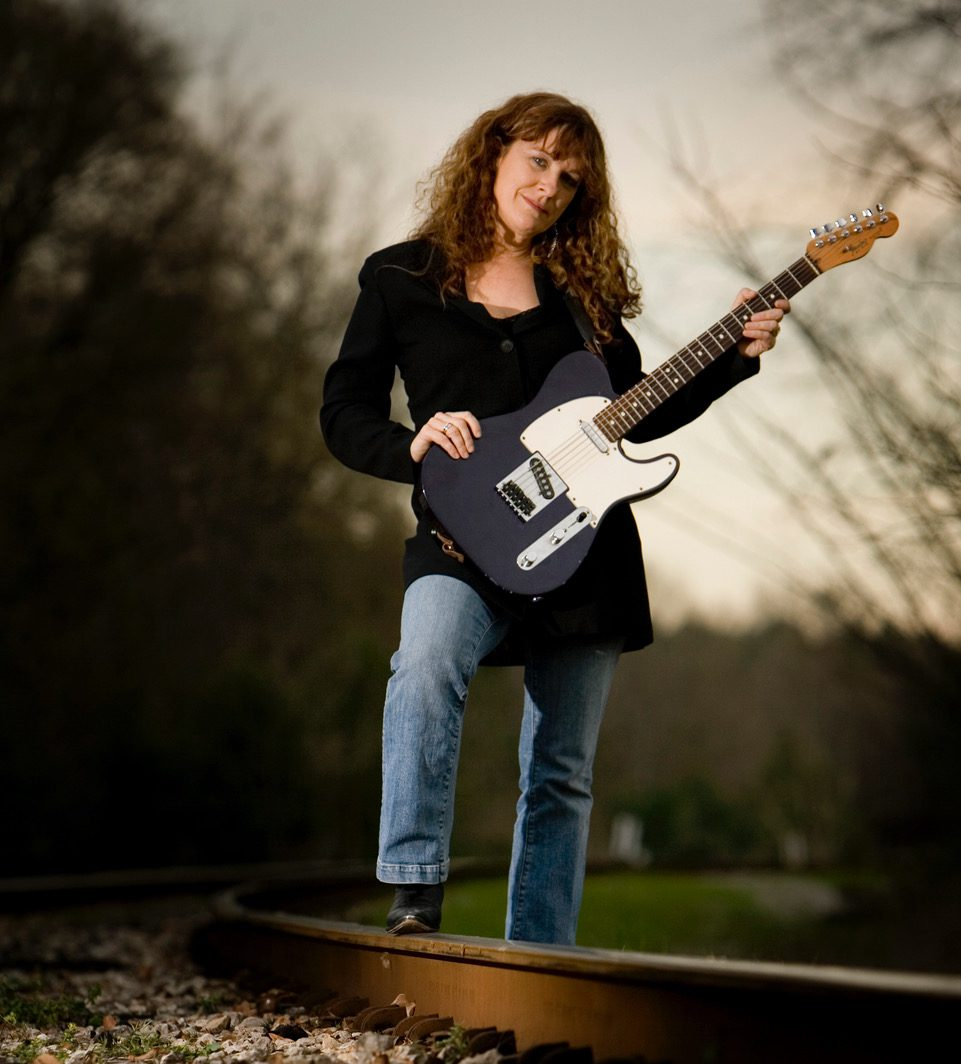 3-6-2007 -- Northport, Ala -- Blues musician Debbie Bond for the Spring 2007 issue of Tuscaloosa magazine. (Tuscaloosa magazine / Robert Sutton)
